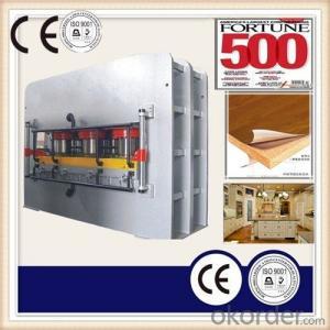 Furniture Board Press Machinery Melamine