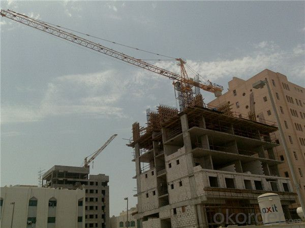 Flat Top Tower Crane TC 5511 for Construction Use