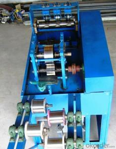 Ss and Galvanized  Scourer Making Machine 6wire3ball,8wire4ball