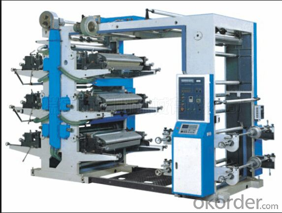 4 Colors High Speed Flexo Printing Machine