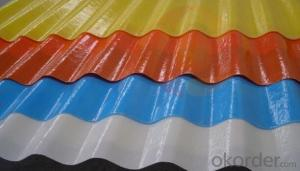 FRP Transparent Corrugated Sheets  From China !
