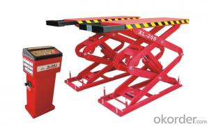 Best seller 1.5kw scissor lift SGJ1.0-0.6-Car Lift