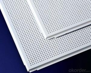 Aluminum Ceiling Soundproof Waterproof  Decorative Plate