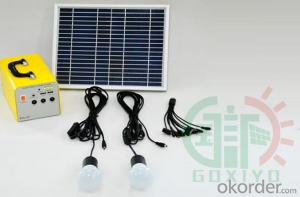 20W Solar System Solar power generation system Solar charging system Solar power lighting