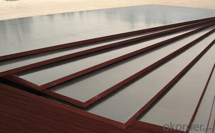 Plywood with Different Color  for Aluminum Framce Formwork in Construction