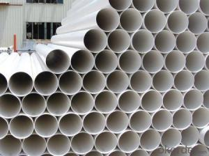 PVC Pipe 0.63-2.0MPa; Material: PVC Specification: 16-630mm Length: 5.8/11.8M Standard: GB