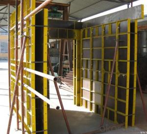 Steel Frame Formworks with Adjustable Fuction in Construction Building