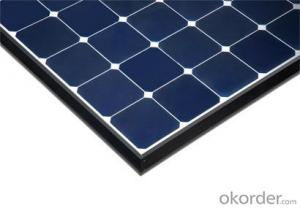 125mm Mono Cell Factory Price with High Efficiency 250w Solar Panel
