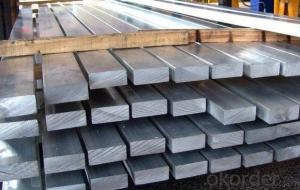 Carbon steel flat bar in Grade Q235 for construction