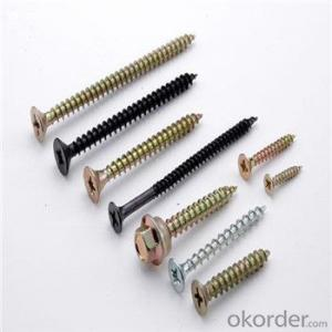 Pan Head Self-Drilling Screws Black High Quality Factory