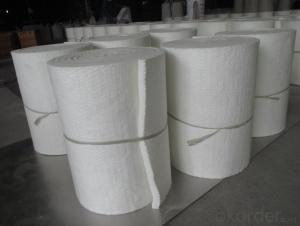 Ceramic Fiber Blanket STD HZ High Purity Alumina And Silica Oxides By Spun Or Blown Process
