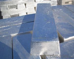 Magnesium Ingot Mg Content 99.5%, 99.7%, 99.95%