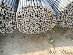 Prime Low Carbon Iron Round Bars Hot Rolled