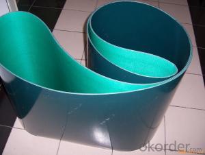 Green PVC Conveyor Belt , Light Weight Belting