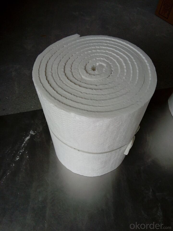 Ceramic Fiber Blanket High Purity Alumina & Silica Oxides By Spun Or Blown Process
