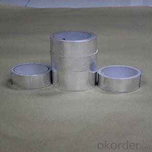 Aluminum Foil Tape with Silicate Release Paper