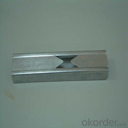 Galvanised Light Steel Profiles for Drywall Decortion