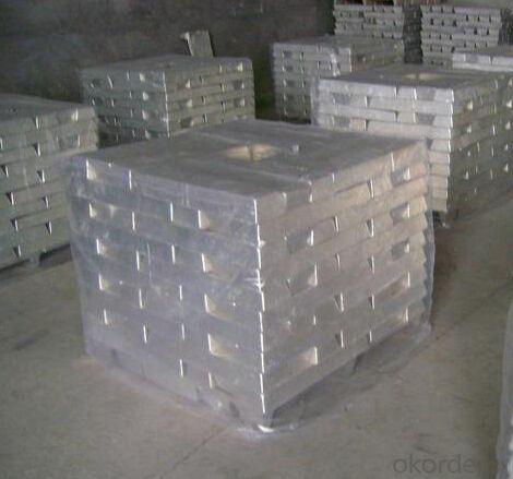 High Purity Magnesium Metal Ingot 99.9%