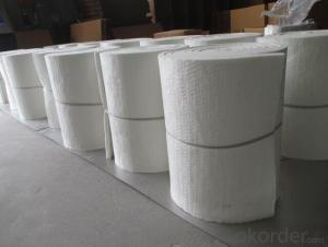 Ceramic Fiber Blanket Double-side Needling Provide Great Tensile Or Strength For Easy Installation