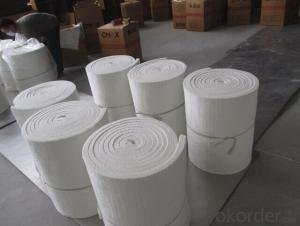 Ceramic Fiber Blanket Needling With Great Tensile Or Strength For Easy Installation