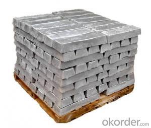 High Purity Magnesium Metal Ingot Mg alloy ingot 99.98% 99.95%