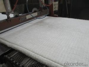 Ceramic Fiber Blanket 1260℃ High Purity Alumina And Silica Oxides By Spun Or Blown Process