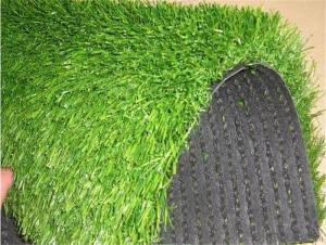 Football Field Fake Turf , Soccer Artificial Grass UV resistent , 32mm Height