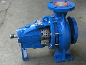 Single Stage End Suction Centrifugal Water Pump