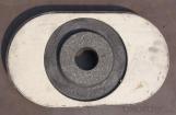 Puerta Deslizante de Medio Quemado con Alta Resistencia a la Oxidación, Buena Resistencia a la Corrosión