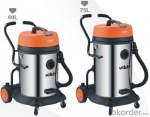 Wet and Dry Vacuum Cleaner Industrial Car Drum Vacuum Cleaner