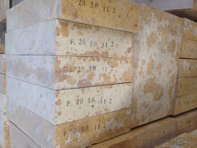 High Duty Silica Brick for Hot Air Stove