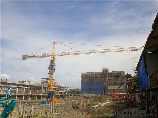 Luffing Tower Crane TC 5511 for Construction