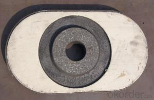 Medium or High Temperature Sintered Sialon bonded  Sliding Gate Thermal Shock Resistance