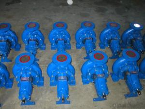 DIN Standard Single Stage End Suction Centrifugal Water Pump