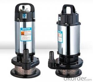 WQ Series Sewage Vertical Centrifugal Water Pumps