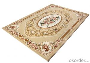 Wilton Persian Viscose Rug, PP Carpet for luxury living room carpet