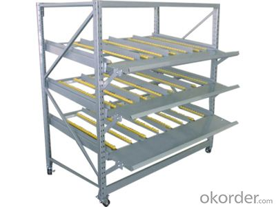Cargo Flow Rack for Warehouse and Industrial Storage