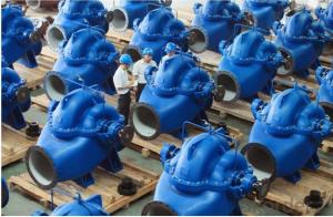 Double-Suction Horizontal Split Centrifugal Pump for Pump Station