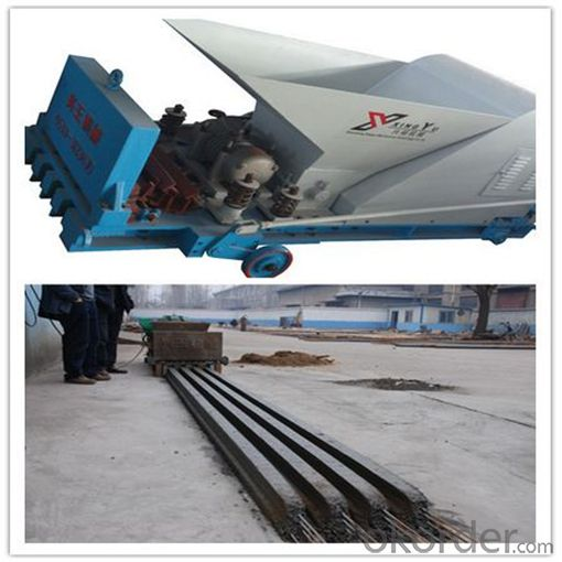 T Beam for Flooring Decking Precast Machine