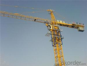 Flat Top Tower Crane TC 6024 for Construction