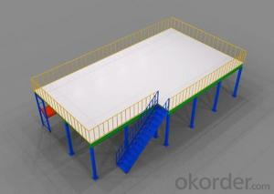 Steel Platform for Warehouse and Industry