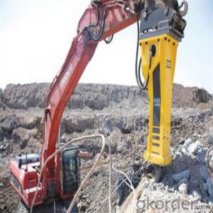 Hb 1550 Hydraulic Rock Breaker with All Kinds of Series