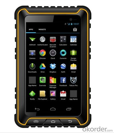 Rugged Tablet PC 7inch Android System  for Industrial Usage