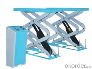 Portable Scissor Car Lift & Moveable Scissor Lift hydraulic lift with CE