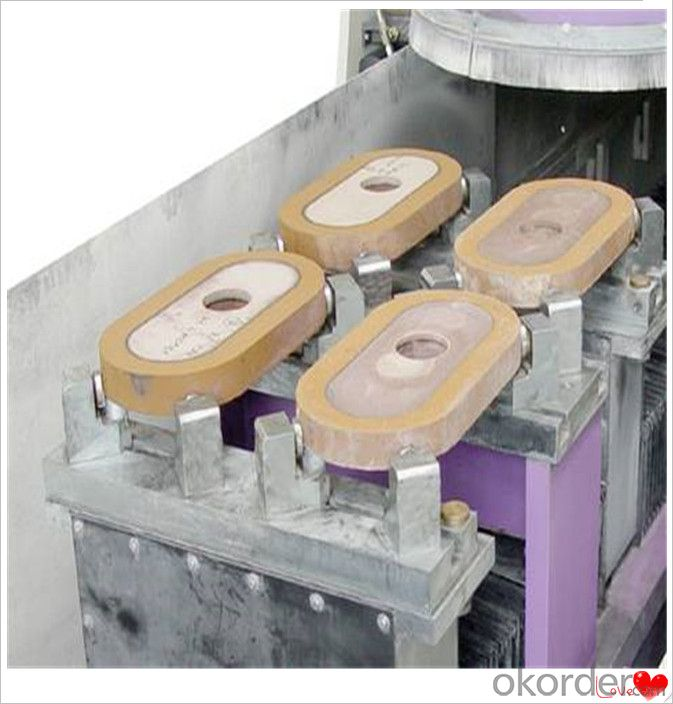 Ladle Nozzle Refractory Slide Gate Plate for Steel Casting Erosion Resistance