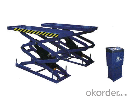 Quality One Cylinder Two Scissors Electric Scissor lifts