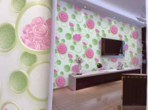 PVC Wallpaper Simple & Luxury Style Modern Design Deep Embossed Wallpaper for Interior Decoration