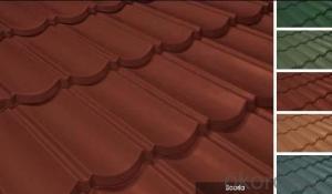 Shingle Stone Coated Roof Tile for House