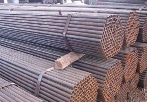 Welded Black ERW Pipe GB9711.2 ERW Pipe