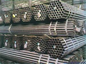 Welded Black ERW Steel Pipe ASTM Standard